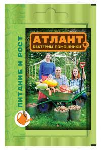 Атлант Питание и рост бактерии-помощники 10гр.