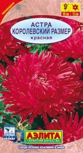 Астра Королевский размер красная 0,1 гр.