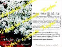 Иберис Снежный ковер белый (20пак*1 гр.)