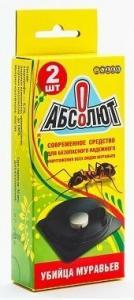 Абсолют Приманка от сад. и дом.муравьев 2 таблетки  5,2гр.