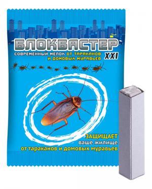 Мелок Блокбастер от тараканов и домовых муравьев