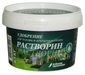 Растворин для теплиц и открытого грунта ведро 0,5 кг.