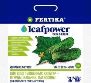 Фертика Leaf POWER водорастворимое для тыквенных культур 50 гр.