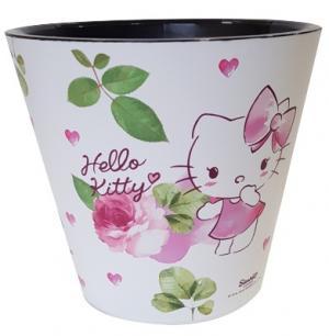 Горшок 4 литра Hello Kitty Любовь с автополивом диаметр 200мм (ING1554ХКЛЮ)