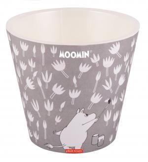 Горшок 4 литра MOOMIN GREY диаметр 200мм  (PT9110MOOMIN-СЕР-12)