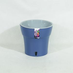 Горшок Дали 3,5л дымчатый синий-серый