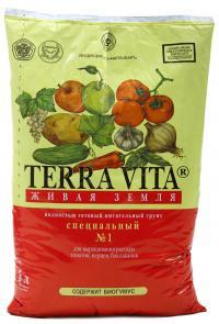 Грунт Живая земля СП1   5  литров. (для томатов и перцев)