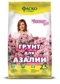 Грунт Цветочное счастье Азалия 2,5 литра.
