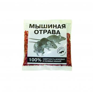 Гранулы-Зерно Мышиная отрава 150гр.