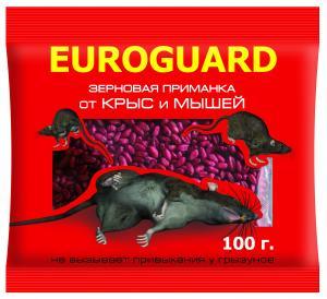 Зерно EUROGUARD от крыс и мышей 100гр. пр-во Италия