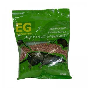 Зерно EUROGUARD от крыс и мышей 300гр. пр-во Италия