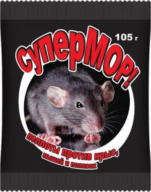 Пеллеты СуперМОР 105гр.