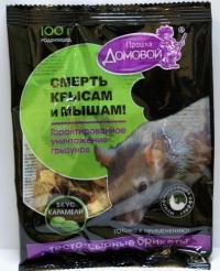 Тесто-брикет Домовой со вкусом карамели 100 гр.