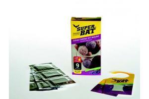 Антимоль Супер Бат пластины лаванда в упак.  (03-001)