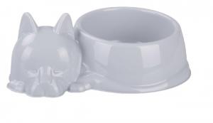 """Миска для кошек """"Барсик"""" 0,5 л. (серый) (М6939)"""