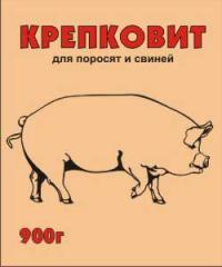 Крепковит для поросят и свиней 900 гр.
